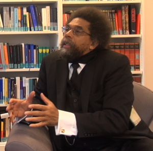 Cornel West im Gespräch  (c) FIPH 2014